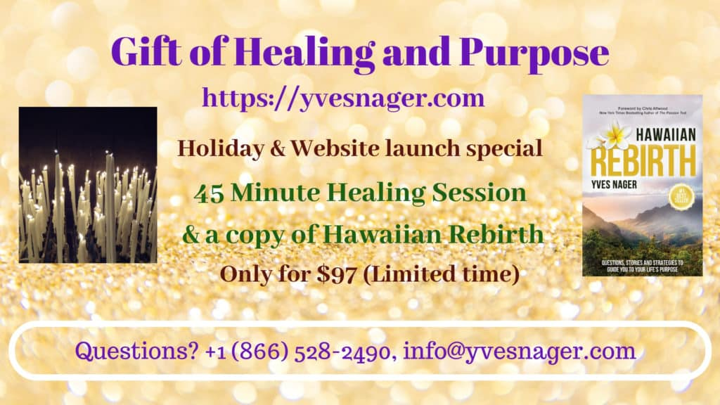 Gift of Healing and Purpose December 2018.